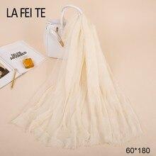 Cotton Long Women Man Scarf Male Luxury Brand Foulard Femme Wool Tube Neck Ladies Crinkle Hijab Winter Viscose Scarf Men 2018