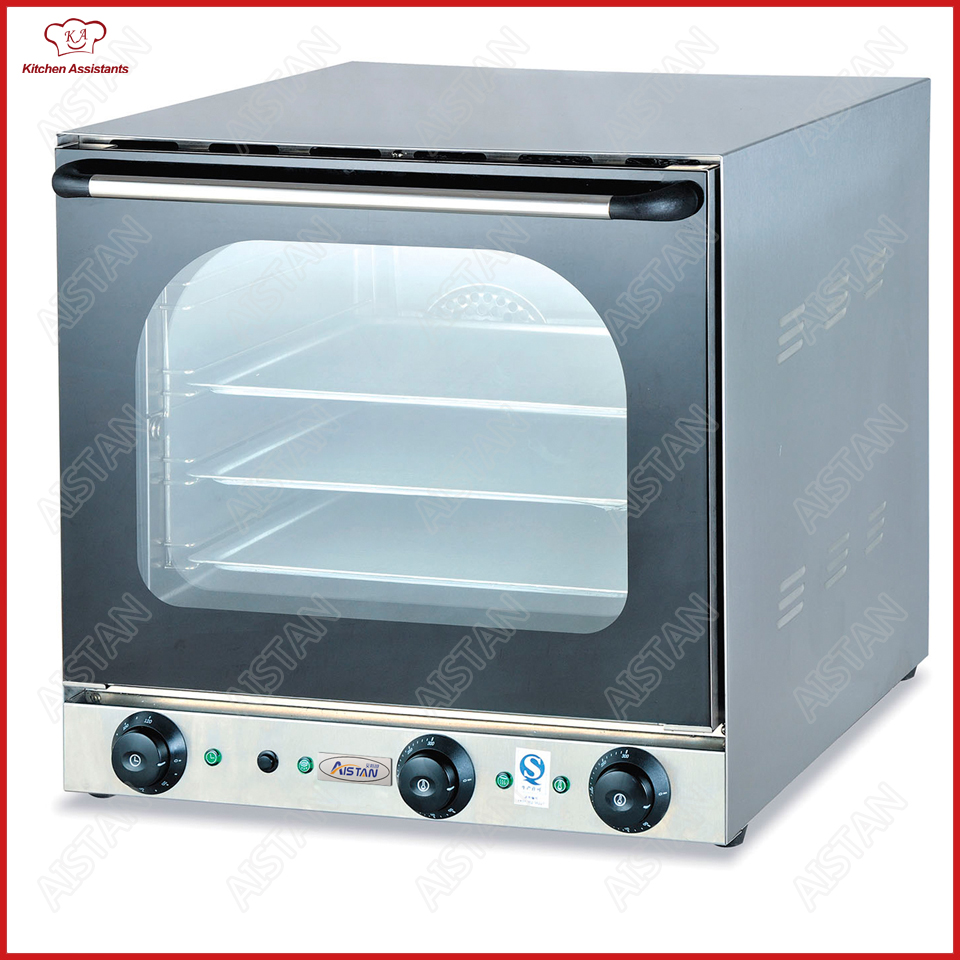 купить EB4A 4 Trays Electric double fan Convection Oven with timer Commercial Use Bakery Deck Oven Stainless Steel по цене 60228.79 рублей