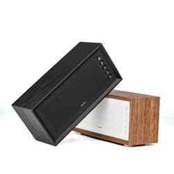 Oneder V2 Bluetooth speaker  portable FASHION  woofer FM radio wood enceinte bluetooth portable puissant caixa de som Support TF