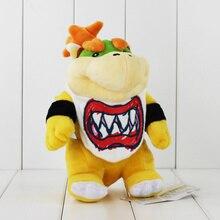 8 21cm Super Mario Koopa Bowser Dragon Plush Doll Brothers Bowser JR Soft Plush Toys Gift
