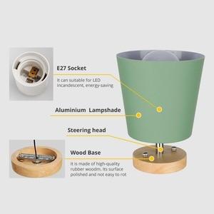 Image 5 - LED תקרת אור ברזל עץ תקרת מנורות נורדי מודרני תקרת סלון חדר שינה קישוט קבועה מסדרון מטבח