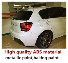 Для bmw F20 F21 автомобиль спойлер заднего крыла 116i 120i 118i M135i 2012 до 2019 Универсальный Спойлер Высокое качество аксессуар для багажника и миксер для смешивания красок