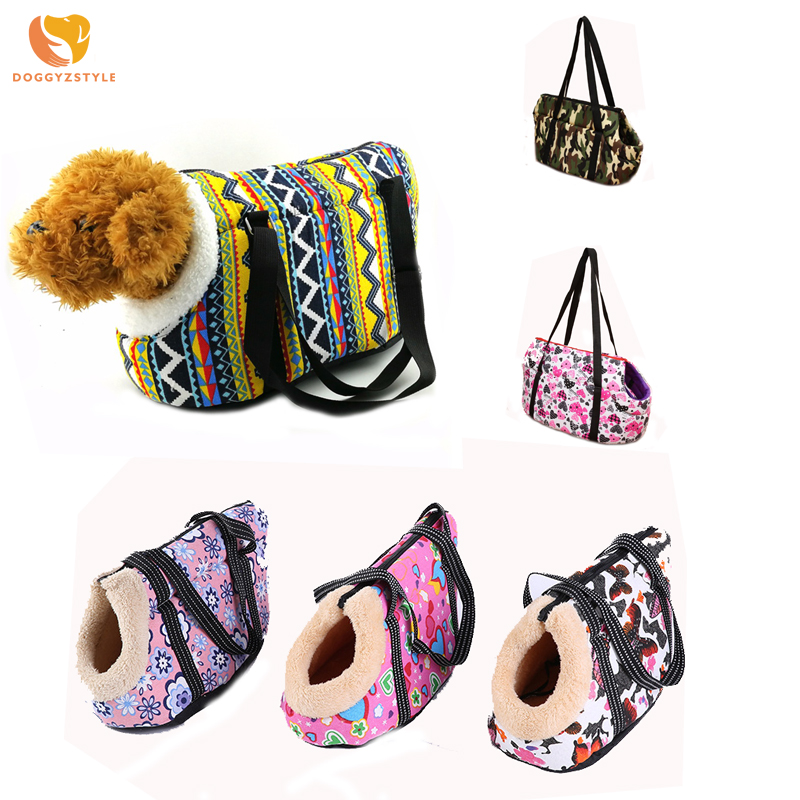 Pet Carrier Dog Backpack Cozy & Soft Puppy Cat Dog Bags Outdoor Hiking Travel Shoulder Carriers Pets Products For Small Dogs