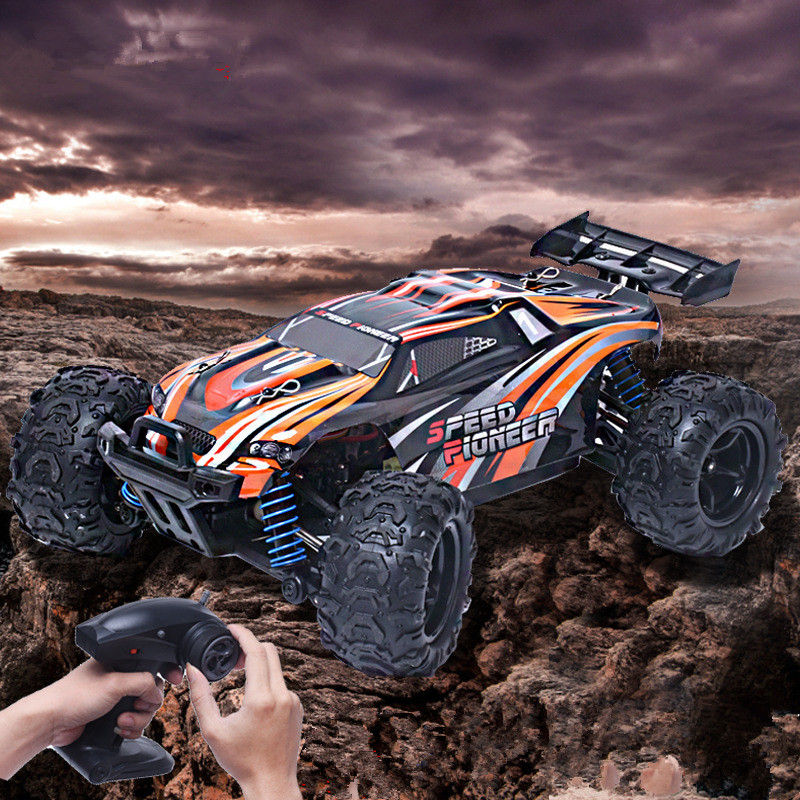 цена на RC cars 9302 1:18 2.4G 40-50km/h Four-Wheel Drive High Speed Off Road Remote Control Climbing Car monster truck VS 12428 114647