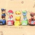 12 Unids/set Patrulha Patrulla Canina Cachorro Juguetes Luminosos Juguetes de Pvc Figura de Acción Del Anime Juguetes Para Niños Minifigures Pat Patrouille RT111