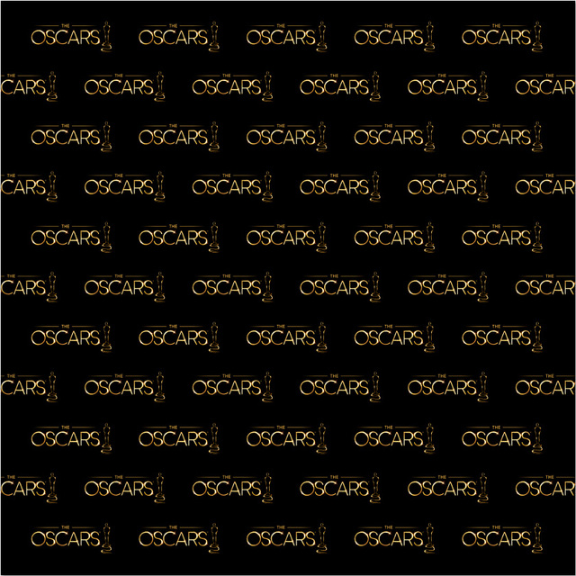 10x10FT Hollywood Oscars Gold Trophy Vip Black Banner Custom Backdrop Photo Studio Background Vinyl 300cm X
