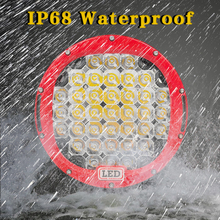 VISORAK 2017 New 9 inch LED Work Light Bar 185W 12V LED 24V Spot Flood For 4WD 4×4 Car Truck Trailer SUV Offroad Boat ATV LED