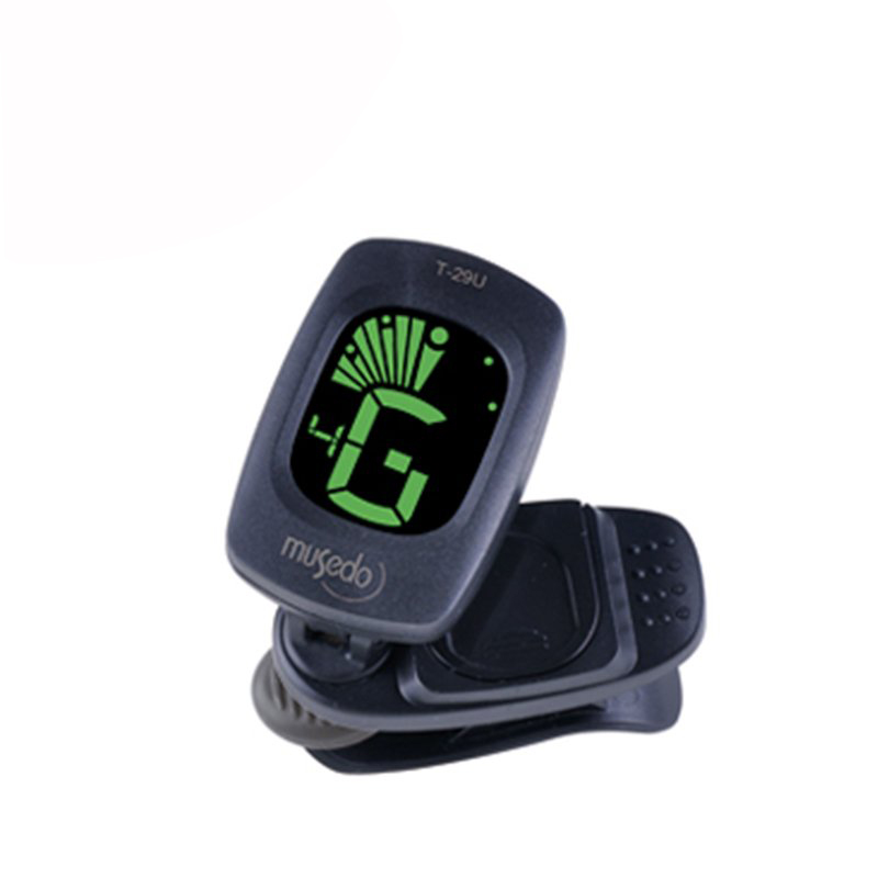 Musedo T-29U Mini Clip-on Tuner 360 Degree Rotatable Clip with LCD for Ukulele Auto Powe ...