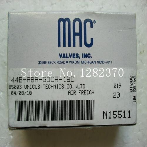 [SA] new original authentic MAC solenoid valve 44B-ABA-GDCA-1BC spot [sa] new original authentic mac solenoid valve 250b 111ca spot