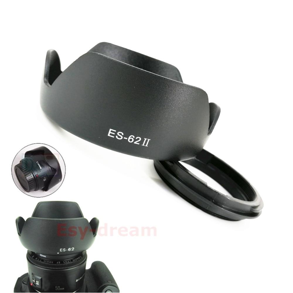 Flower Petal Lens Hood Replace ES-62 ES62 II For Canon EF 50m F/1.8 II / EF-S 50mm F1.8 IS USM / EF 50m F1.8