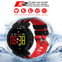 Original CACGO K2 Smartwatch Bluetooth Nordic NRF52832 Sleep/Heart Rate/Blood Pressure/Blood Oxygen/Calories For IOS/Android