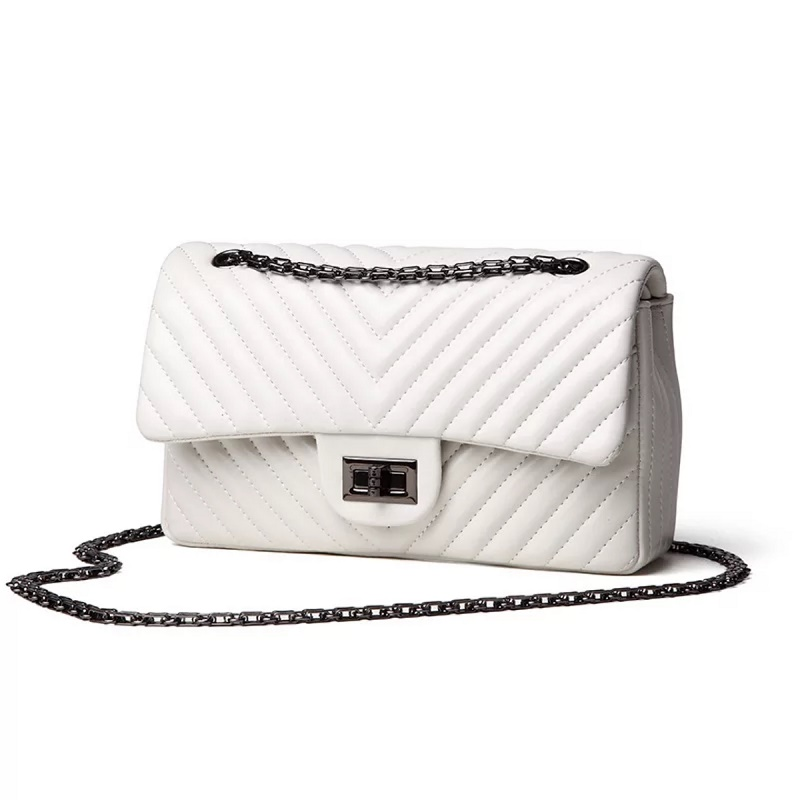 2019 Handbag woman luxury handbag bag designer black delicate chain single shoulder cross body small square