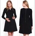 2016 Европейской и Американской моды большой размер Материнства шею кружева с коротким рукавом платье Тонкий платье беременных женщин одеваться