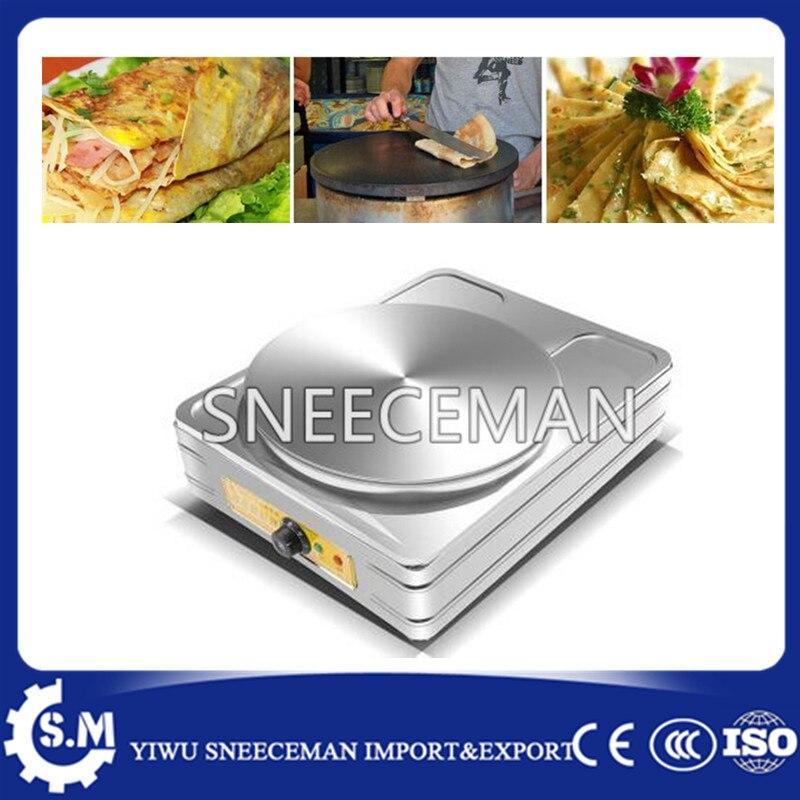 все цены на Commercial Electric single Crepe Maker Pancake Making Machine онлайн