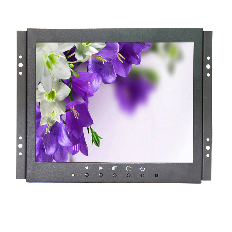 9.7 inch metal shell open frame monitor/9.7 inch open frame HDMI HD display/9.7 inch 1024x768 IPS full view industrial monitor zgynk 10 1 inch open frame industrial monitor metal monitor with vga av bnc hdmi monitor
