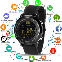 2019 Sport Smart Watch Professional 5ATM Waterproof Bluetooth Call Reminder Digital Men Clock SmartWatch For ios and Android