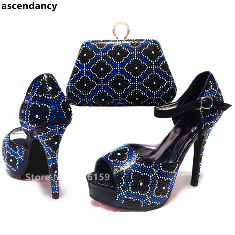 Llegada De En Bolsos Bolsas Zapatos Africano Y Mujeres Juego Negro A Italiano Nueva Fiesta Africanos d7ExqFwdp