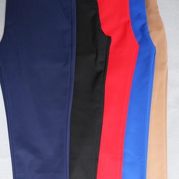 Women Pencil Pants 2019 Autumn High Waist Ladies Office Trousers Casual Female Slim Bodycon Pants Elastic Pantalones Mujer 5