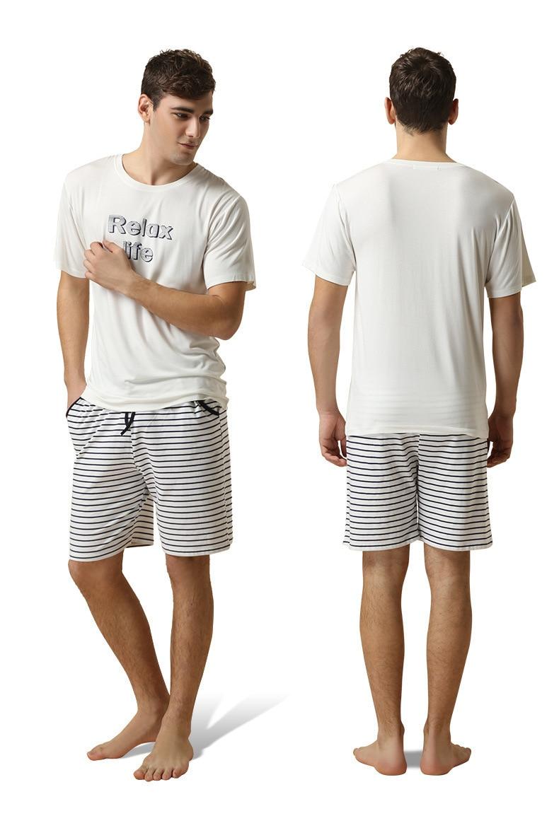 Popular Mens Summer Pajamas Sets-Buy Cheap Mens Summer Pajamas ...