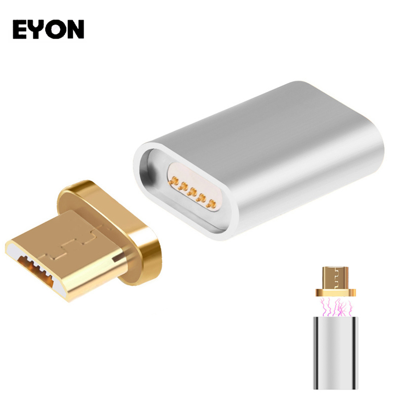 Metal Micro USB Magnetic Charging Data Adapter Converter For SAMSUNG S6 S7 Edge HTC Xiaomi HUAWEI LG ASUS ZTE Most Android