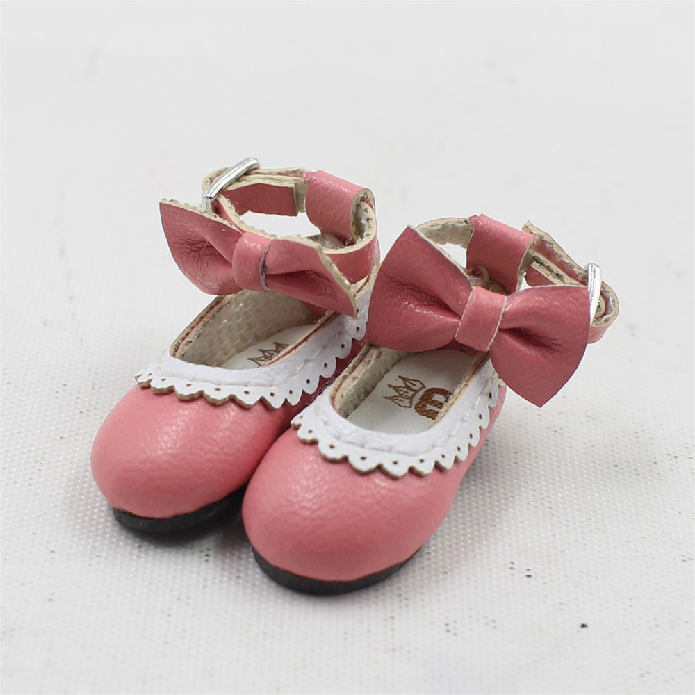 Neo Blythe Doll Designer Shoes with Bow 12