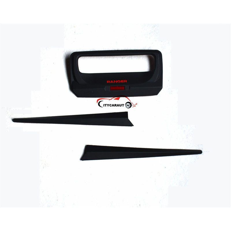 FIT FOR 2012-2017 FORD RANGER Black Rear trunk lid ABS Back trunk lid back rear trim FOR RANGER accessory accessories T6 T7 XLT