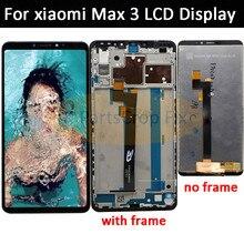 6.9 XIAOMI Mi Max 3 Lcd Touch Screen Digitizer Vergadering Vervanging Scherm voor Mi Max Lcd scherm met Frame