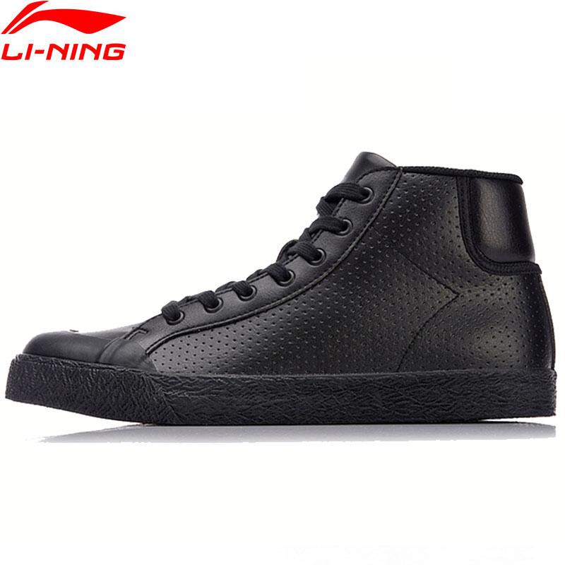Li-Ning Men UNDERDOG Lifestyle Shoes Mid-Cut Wearable LiNing Li Ning Sport Shoes Anti-Slippery Stylish Sneakers AGLN051 YXB141