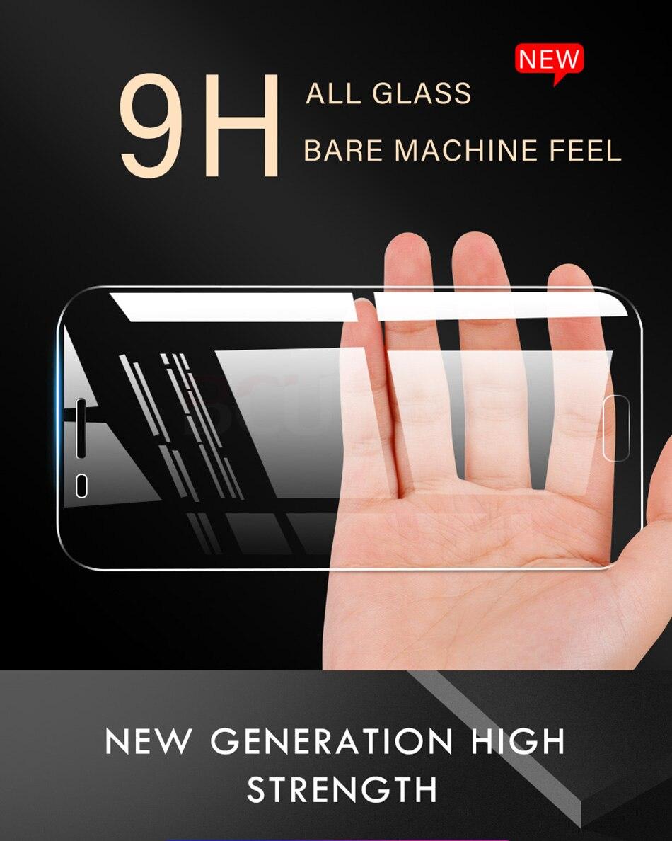 3 sztuk folia na wyświetlacz 9H 2.5D szkło hartowane dla Samsung Galaxy A7 A9 2018 J6 A6 A8 J4 Plus szkło ochronne do Samsung A5 2017 1