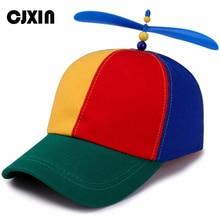 1cb0f650a2e CJXIN High Quality Kids Baseball Cap Children Snapback Hats Colorful  Windmill Caps Gorras Bone Trucker Dad