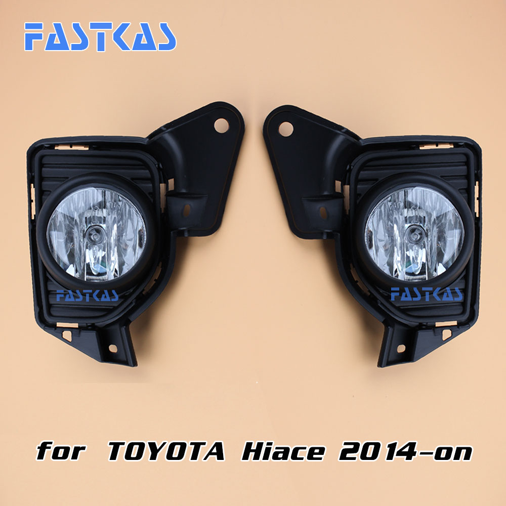 12v 55w car fog light for toyota hiace 2014 now with frame left right