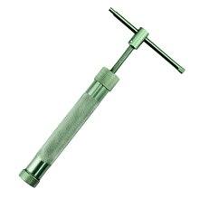 Giratorio de aluminio arma barro squeeze pasta de arcilla diy molde herramienta panadería y repostería herramientas de cocina para hornear e5m1