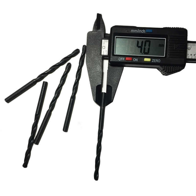 5pcs Set 4mm 5mm 6mm High Speed Steel Twist Drill Bits HSS 6 mm Straight Shank Hand DIY Repair Tools Wood Drilling Bits