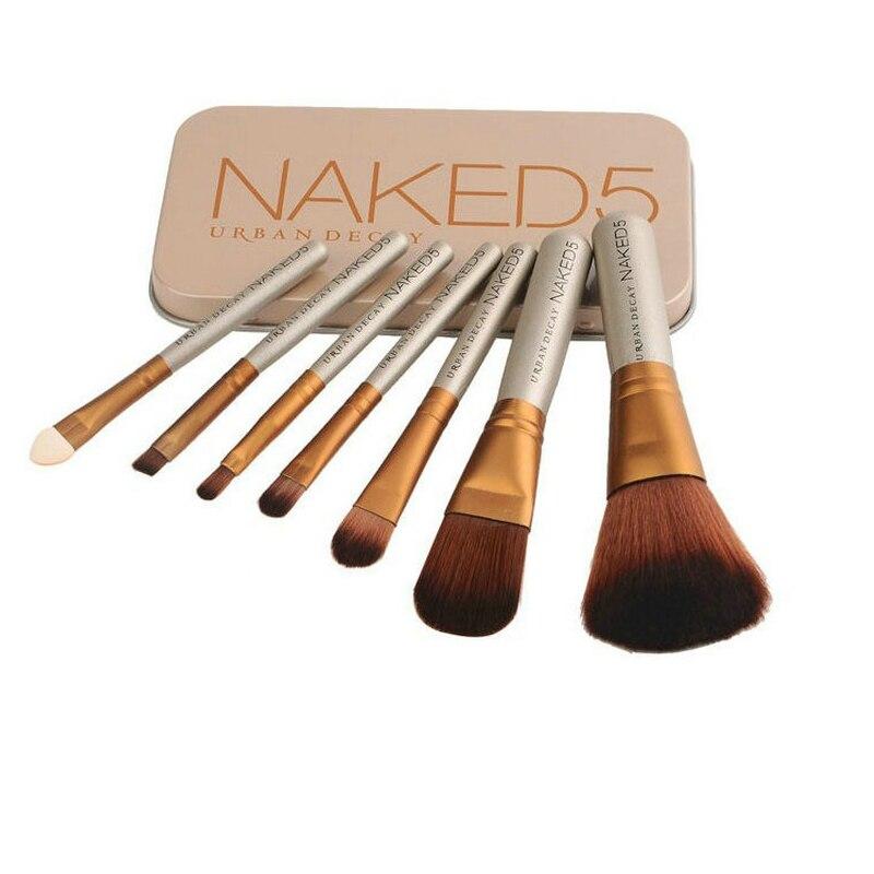 7pcs/set soft Foundation Brushes Makeup tools for face eyelash eye shadow Powder Brush makeup brush Cosmetic product Beauty care huamianli pro beauty makeup brush set soft cosmetic foundation brushes tools 32pcs set