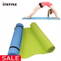 6 мм толстый EVA комфортный Поролоновый Коврик для йоги для упражнений, йоги и пилатеса