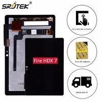 Srjtek 7 For Amazon Kindle Fire HDX7 HDX LCD Display Matrix Touch Screen Digitizer Sensor Assembly