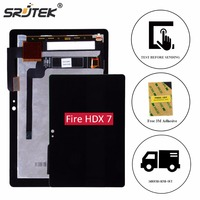 Srjtek 7 For Amazon Kindle Fire HDX7 HDX LCD Display Matrix Touch Screen Digitizer Sensor Assembly