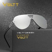 VGLTT Piloto óculos de Sol Espelho Das Mulheres Dos Homens Marca Designer  Feminino Óculos de Sol Sem Aro de Lente Plana Hip Hop . d1909aea51