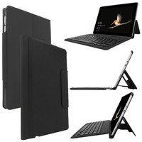 For Microsoft Surface Go 10 Leather Case Smart Cover Bluetooth Wireless Keyboard New 18Oct22