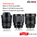 New VILTROX 20mm-85mm F1.8 AF Lens ALS ED UMC lens wide-angle fixed focus lens for Camera Sony FE-Mount Fujifilm FX-Moun Presell