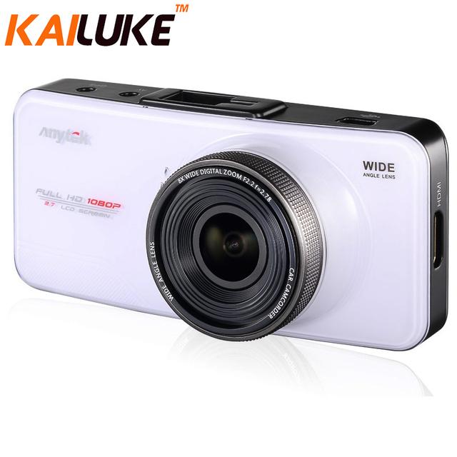 """At66a anytek dvr carro 2.7 """"Câmera Do Carro Full HD G-Sensor WDR Night Vision GPS Novatek96650 DashCam DVR Gravador de Vídeo GPS"""