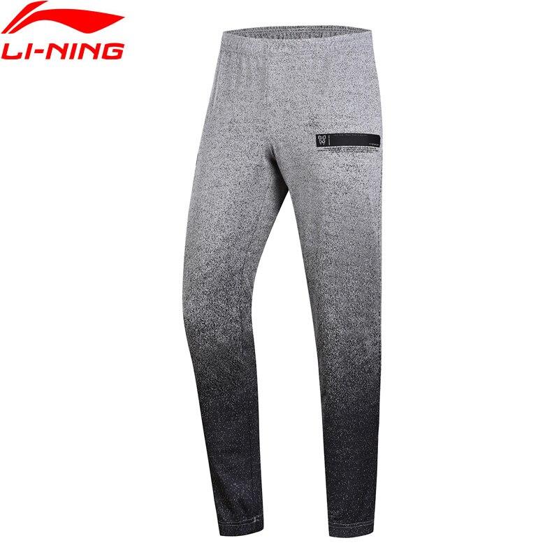 Li Ning Men CBA Basketball Series Sweat Pants Regular Fit Gradient Color LiNing Sports Pants AKLN343