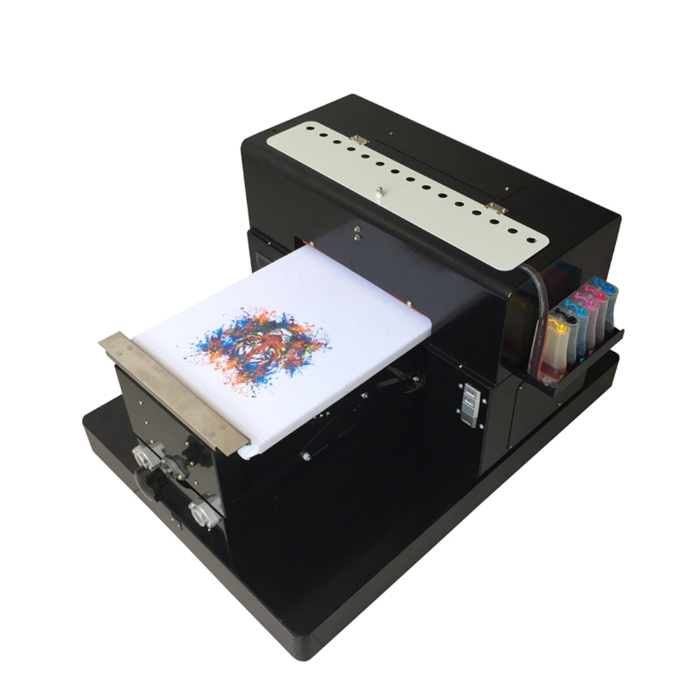 162e92bb Multicolor A3 Size DTG Digital Garment Printer Directly to Print Dark Light  Color Flatbed Printer for T Shirt Clothes Phone Case