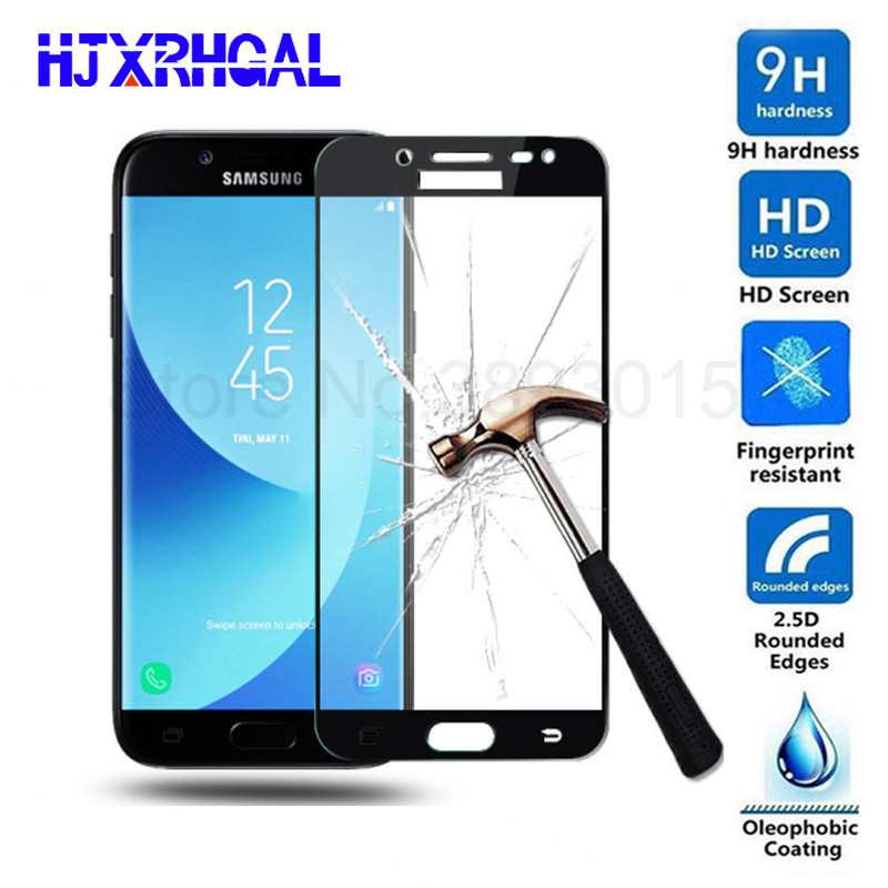 2.5D Protective Glass For Samsung Galaxy J3 J5 J7 2016 2017 Screen Tempered Glass For Samsung A7 A5 A3 2016 2017 Protection Film