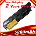 5200 mAh bateria para Lenovo Thinkpad T61 R60 Z60 z61 T60 R61 R61e R61e 8920 8927 8928 8929 frete grátis