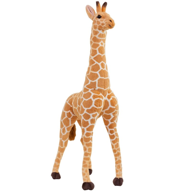 цены Artificial animal giraffe plush toy doll supplies home accessories Large about 95cm Christmas gift t0833