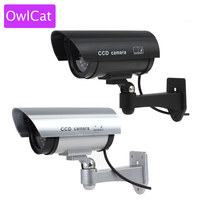 Dummy Security Camera Wifi Fake Camera Bullet Emulational Camera Cctv Camera Waterproof Outdoor For Home Surveillance