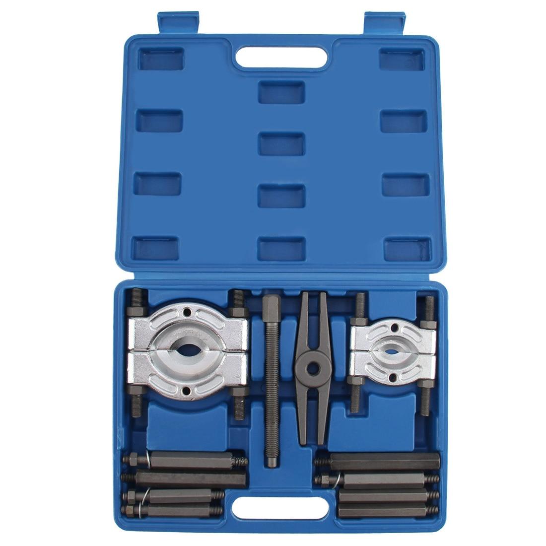 Ensemble de séparateur de roue de mouche d'extracteur de vitesse de diviseur de roulement 12 pièces avec le Garage d'outil de boîte