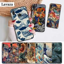 Japanese style Art Japan Silicone Case for Huawei