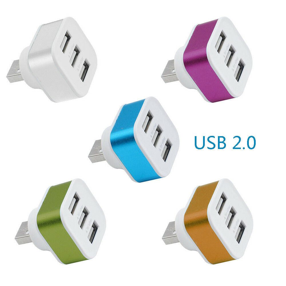 Mini 3.0 Port USB 2.0 HUB Splitter Adapter Computer Accessories High Speed For PC Laptop For MacBook HUAWEI P30 PRo